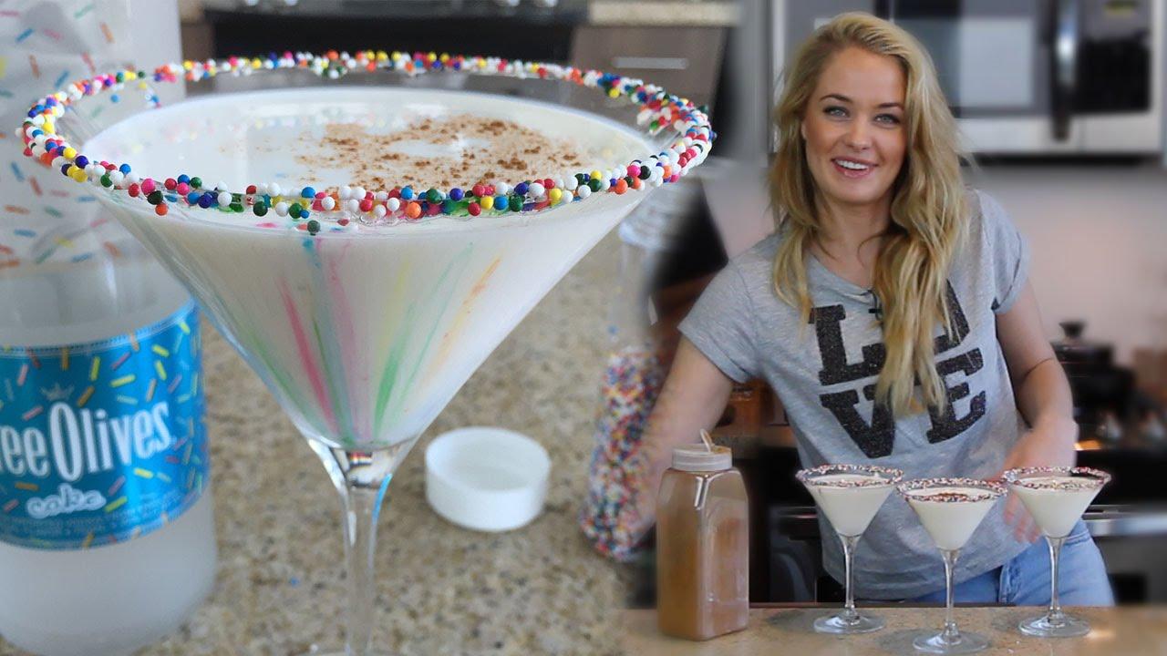 Cake Batter Martini Tipsy Bartender BartendeoBartendeo